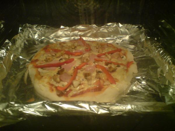pizza własnej roboty